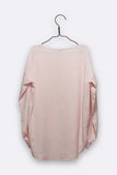 Pia Bluse in rosa Tencel