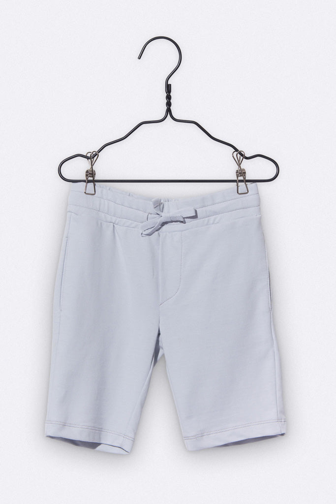 Tommy Shorts in grau mit Totenkopf Stickerei