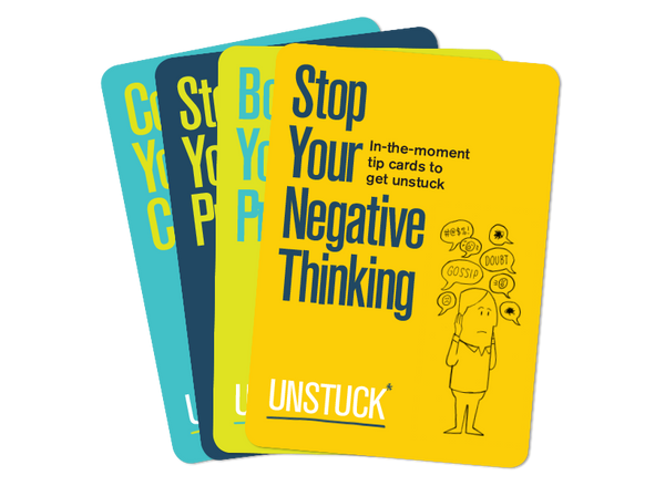 Unstuck Tip Cards — the Complete Set