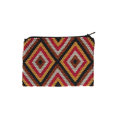 Brito Handmade Beaded Coin Purse