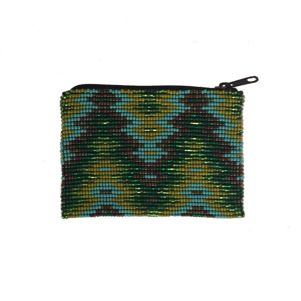 Xaya Handmade Beaded Coin Purse
