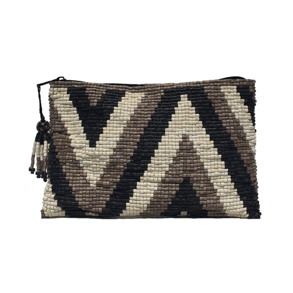 Cerinal Handmade Ceramic Beaded Clutch