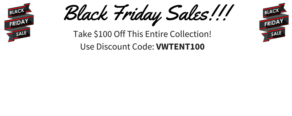 Black Friday Specials Deals  $100 Off Cool VW Stuff