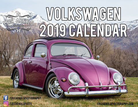 2019 All Volkswagen Calendar by Eric Arnold Photography