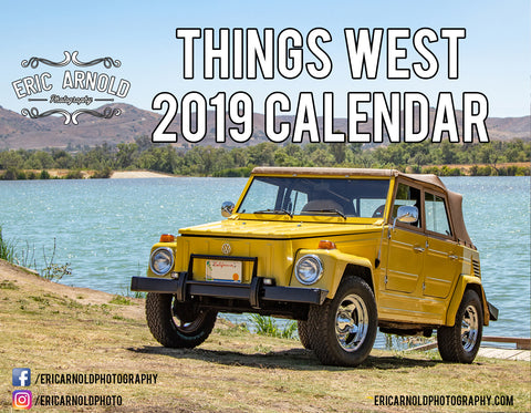 2019 Volkswagen Things West Calendar by Eric Arnold Photography