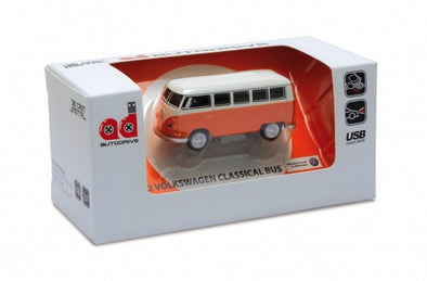 1963 VW Bus USB Flash Drive-Orange - Cool VW Stuff  - 1
