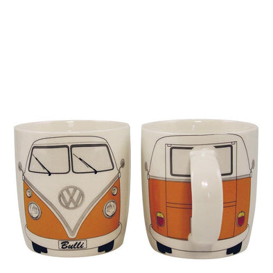 Coffee Mug-Orange Bus - Cool VW Stuff