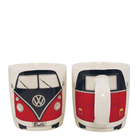 Coffee Mug-Red/Black Bus - Cool VW Stuff
