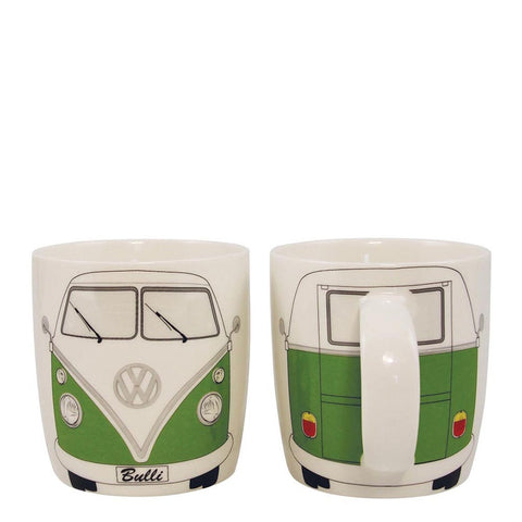 Coffee Mug-Green Bus - Cool VW Stuff