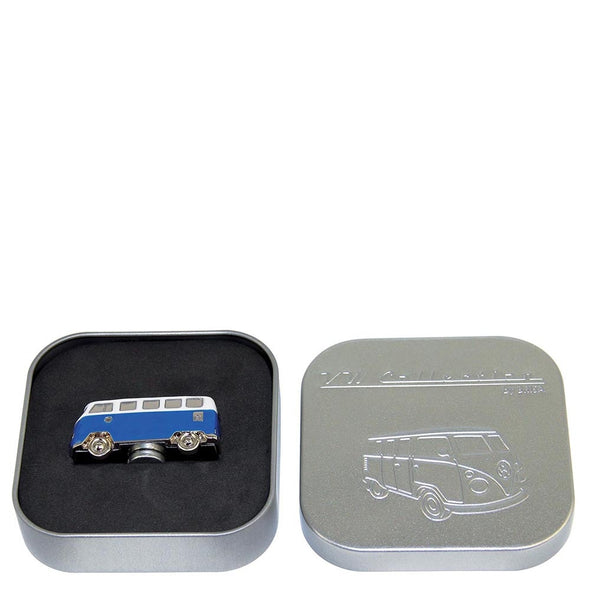 VW T1 Bus 3D Model Magnet-Blue - Cool VW Stuff  - 3