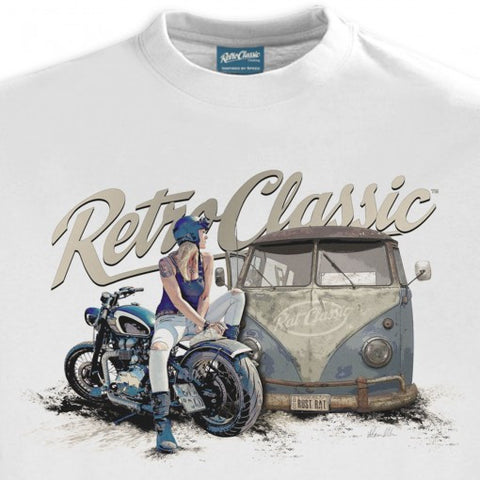 Men's RetroClassic Aircooled Camper & Custom Motorcycle - Cool VW Stuff