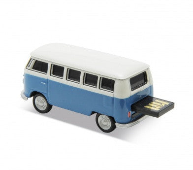 1963 VW Bus USB Flash Drive-Blue - Cool VW Stuff  - 6