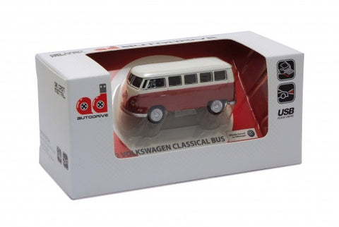 1963 VW Bus USB Flash Drive-Red - Cool VW Stuff  - 1