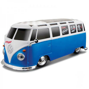 Volkswagen Van Samba Radio Control Vehicle - Blue & White - Cool VW Stuff  - 1