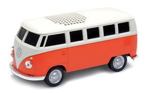 1963 VW T1 Bus Blue Tooth Speaker-Orange
