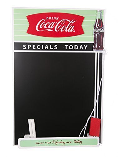 Retro Coca Cola Fishtail Design Chalkboard by Coca-Cola
