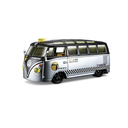1963 Volkswagen Samba All Stars Taxi - 1:25 Die Cast - Cool VW Stuff  - 1