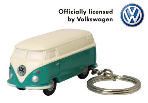 Volkswagen Type II Bus Key Chain Light-Green and Ivory - Cool VW Stuff  - 4