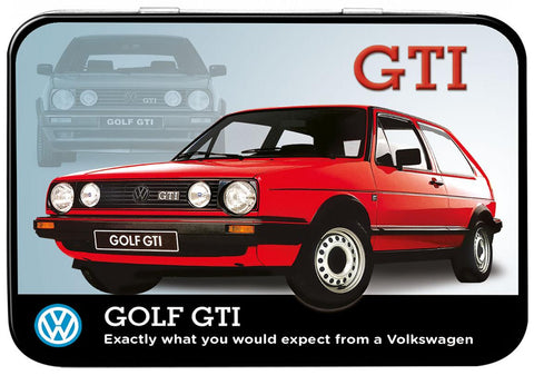 VW Golf GTI Keepsake Tin - Cool VW Stuff  - 1