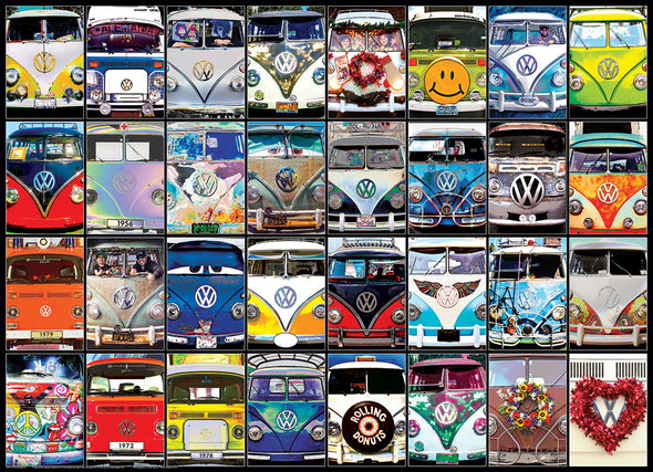 Volkswagen 1000-Piece Puzzle - VW Cool Faces by EuroGraphics