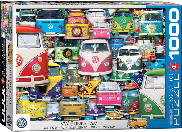 Volkswagen 1000-Piece Puzzle - VW Funky Jam by EuroGraphics