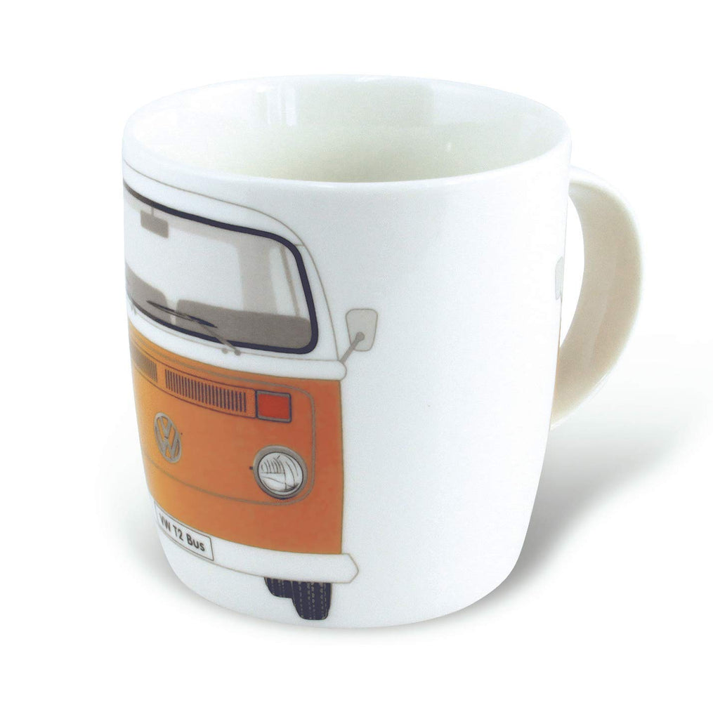 Volkswagen Bay Window T2 Coffee & Tea Mug - Orange