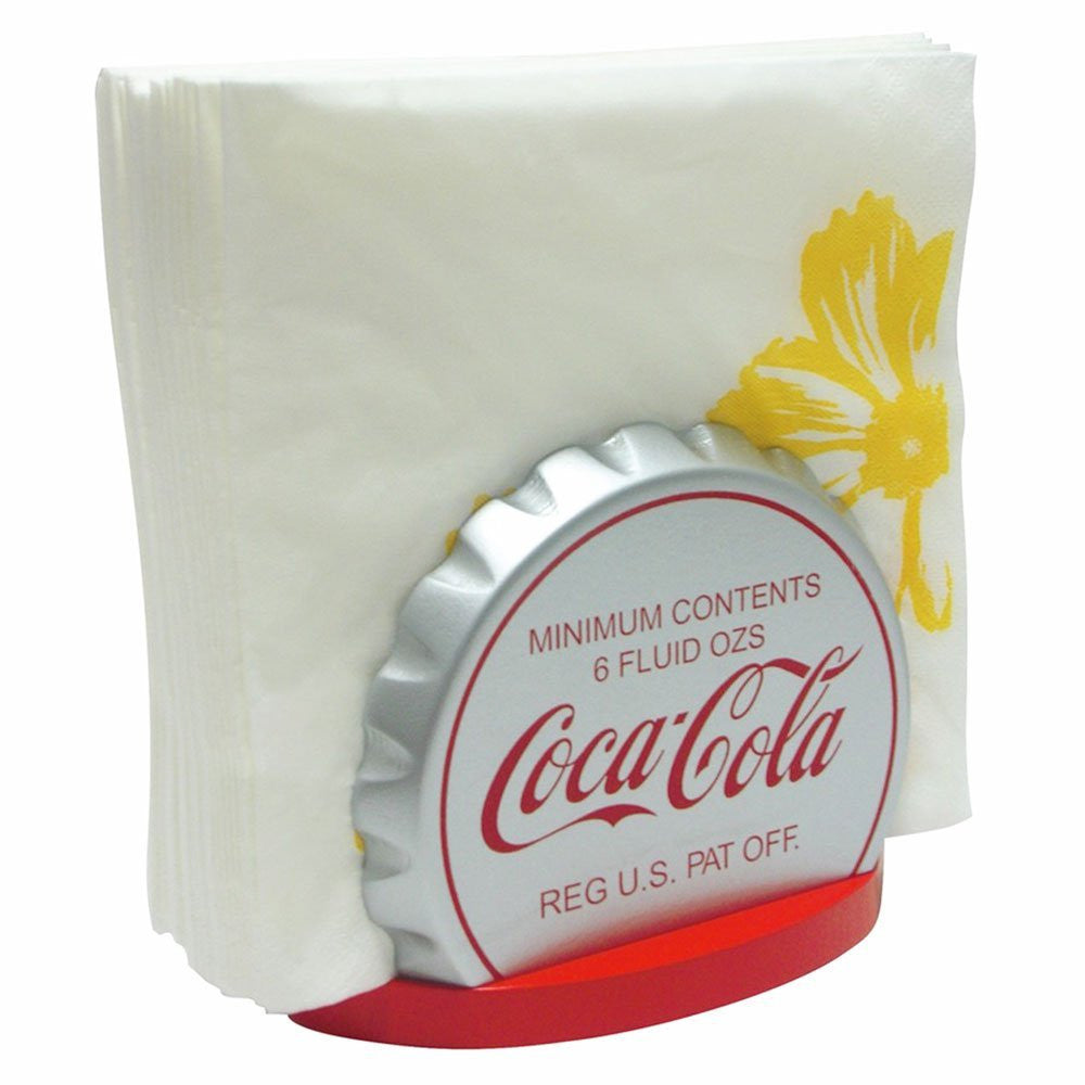 Coca-Cola Crown Bottle Cap Wooden Napkin Holder