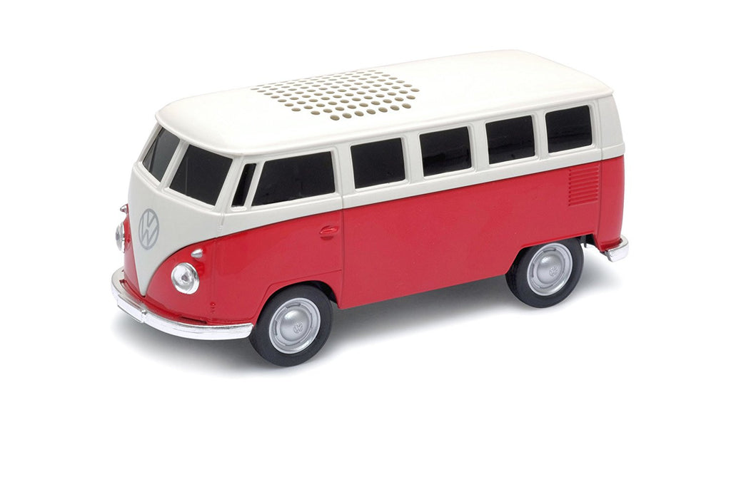 1963 VW T1 Bus Blue Tooth Speaker-Red