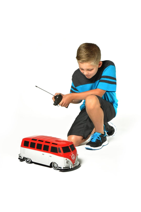 Large Volkswagen Van Samba Remote Control Vehicle - Red & White - Cool VW Stuff  - 5