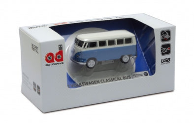 1963 VW Bus USB Flash Drive-Blue - Cool VW Stuff  - 1