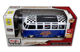 Volkswagen Van Samba Radio Control Vehicle - Blue & White - Cool VW Stuff  - 3