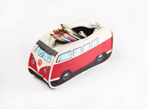 Volkswagen Bus Pencil Case - Red - Cool VW Stuff  - 1