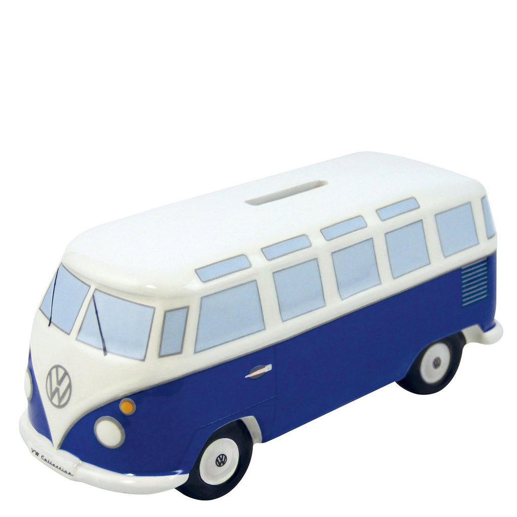 VW Bus Money Bank-Classic Blue