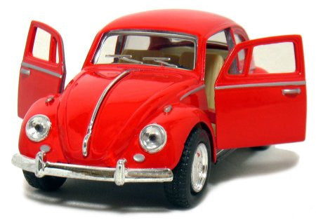 Volkswagen Beetle Diecast Vehicle 1:24 Scale-Red - Cool VW Stuff