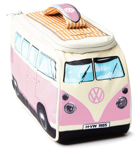 Volkswagen Camper Van Lunch Bag - Pink