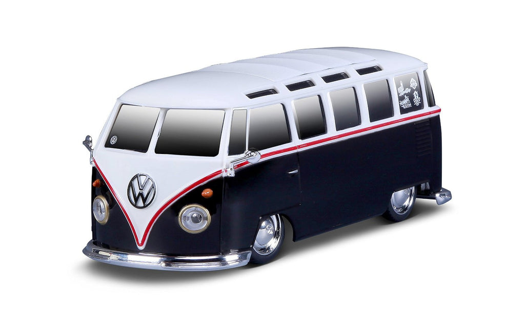 Volkswagen Van Samba Radio Control Vehicle - White & Black - Cool VW Stuff  - 1