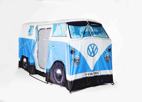 Volkswagen Bus Adult Tent-Blue - Cool VW Stuff - 12 & Officially Licensed Volkswagen Bus Tents by Monster Factory