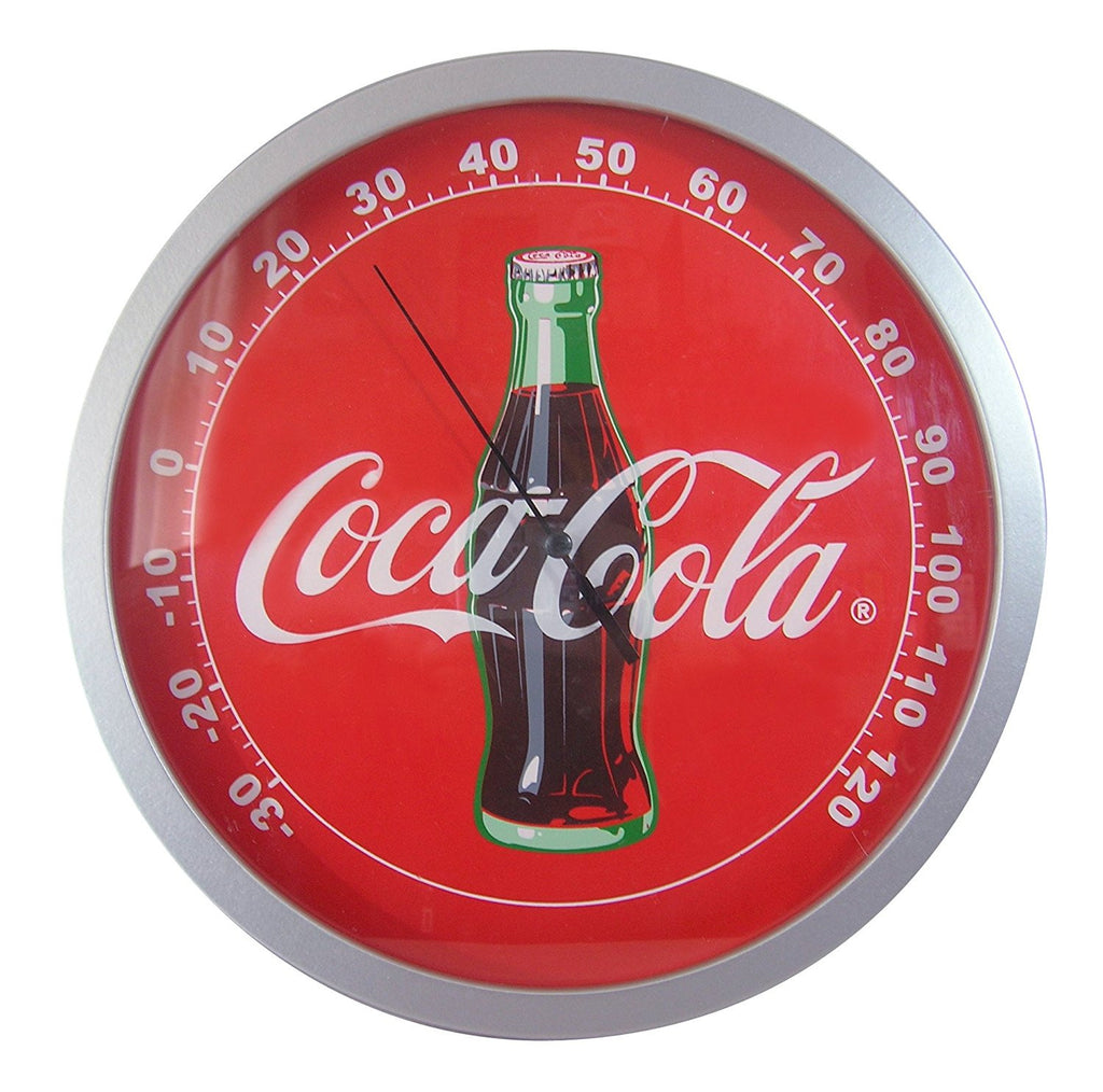 Coca-Cola Wood Thermometer: Retro Designed Classic Temperature Measurement - Cool VW Stuff