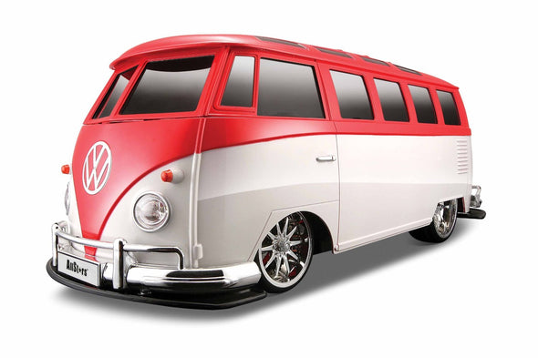 Large Volkswagen Van Samba Remote Control Vehicle - Red & White - Cool VW Stuff  - 1