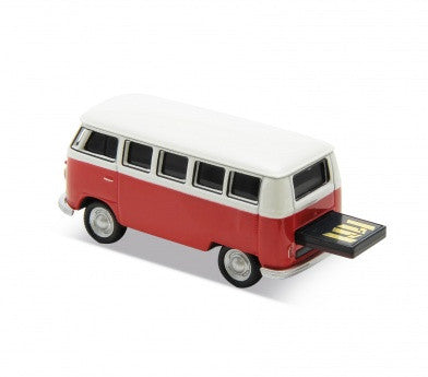 1963 VW Bus USB Flash Drive-Red - Cool VW Stuff  - 2