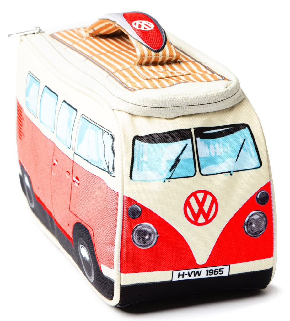 Volkswagen Camper Van Lunch Bag - Red