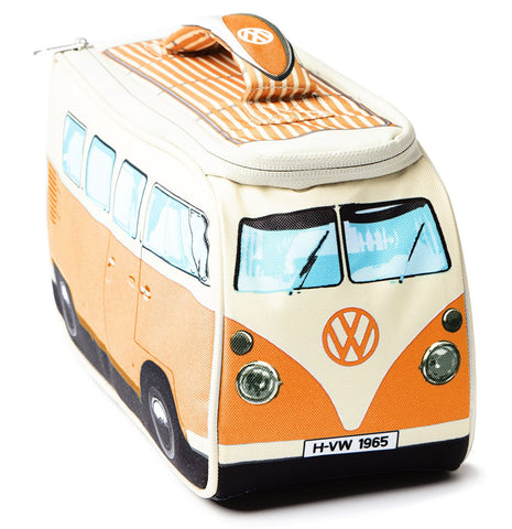 Volkswagen Camper Van Lunch Bag - Orange