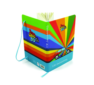 VW Beetle Notebook-Rainbows
