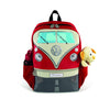 VW T1 Bus Backpack Small - Red - Cool VW Stuff  - 3