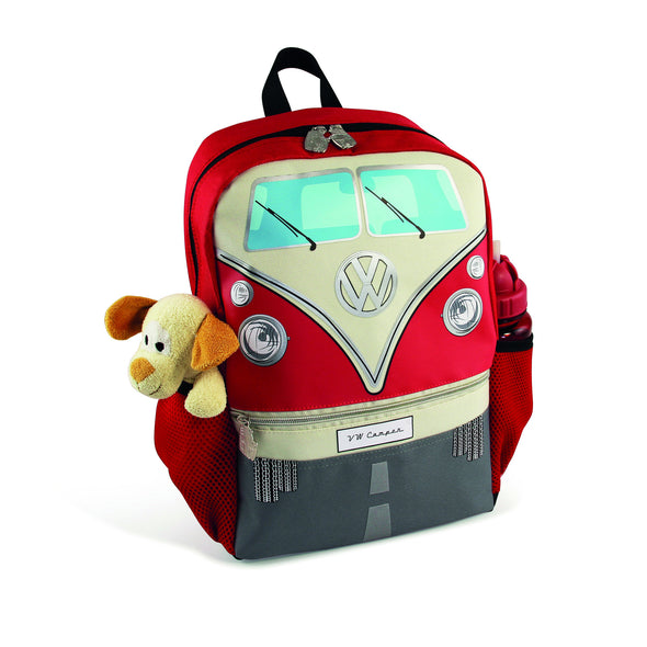 VW T1 Bus Backpack Small - Red - Cool VW Stuff  - 2
