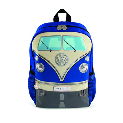 VW T1 Bus Backpack Small - Blue - Cool VW Stuff  - 1