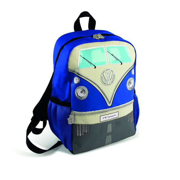 VW T1 Bus Backpack Small - Blue - Cool VW Stuff  - 2