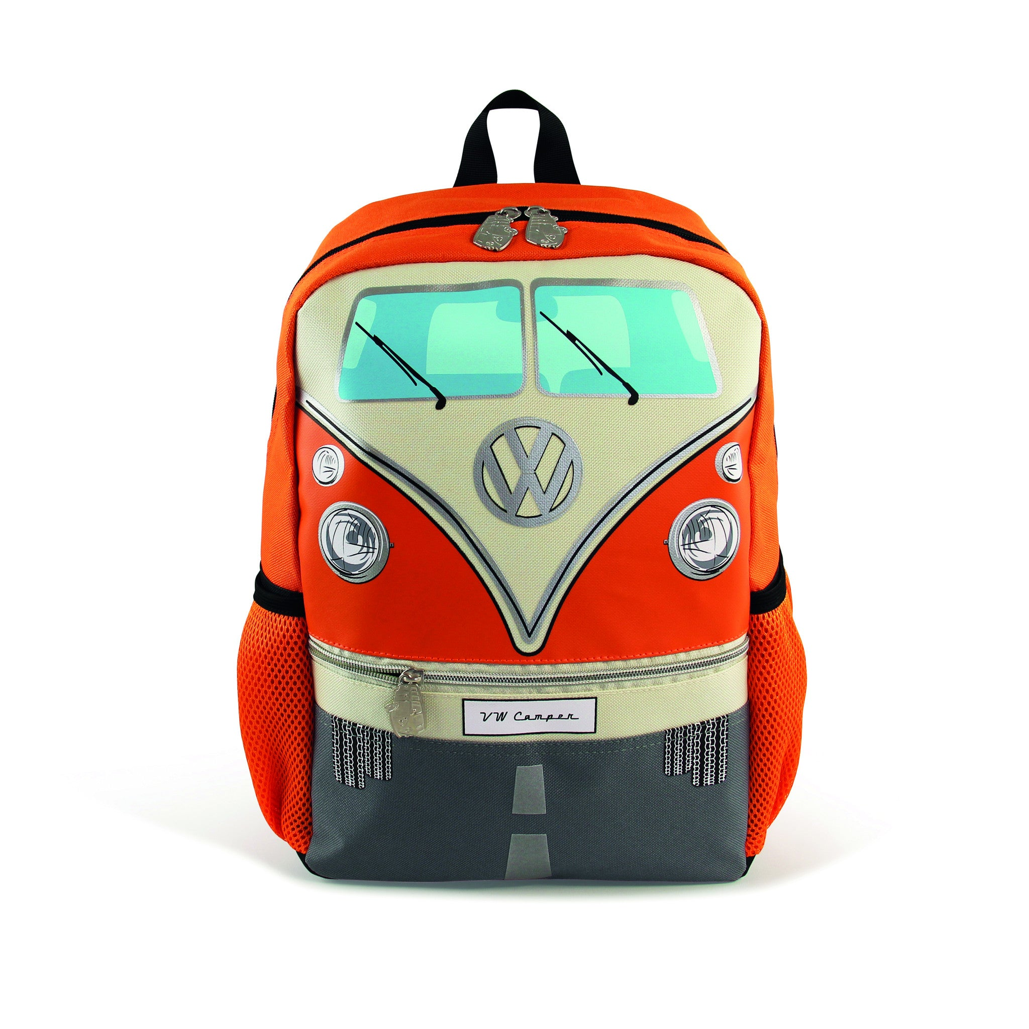 55a213cd91 VW T1 Bus Backpack Small - Orange BUBP14 by Brisa