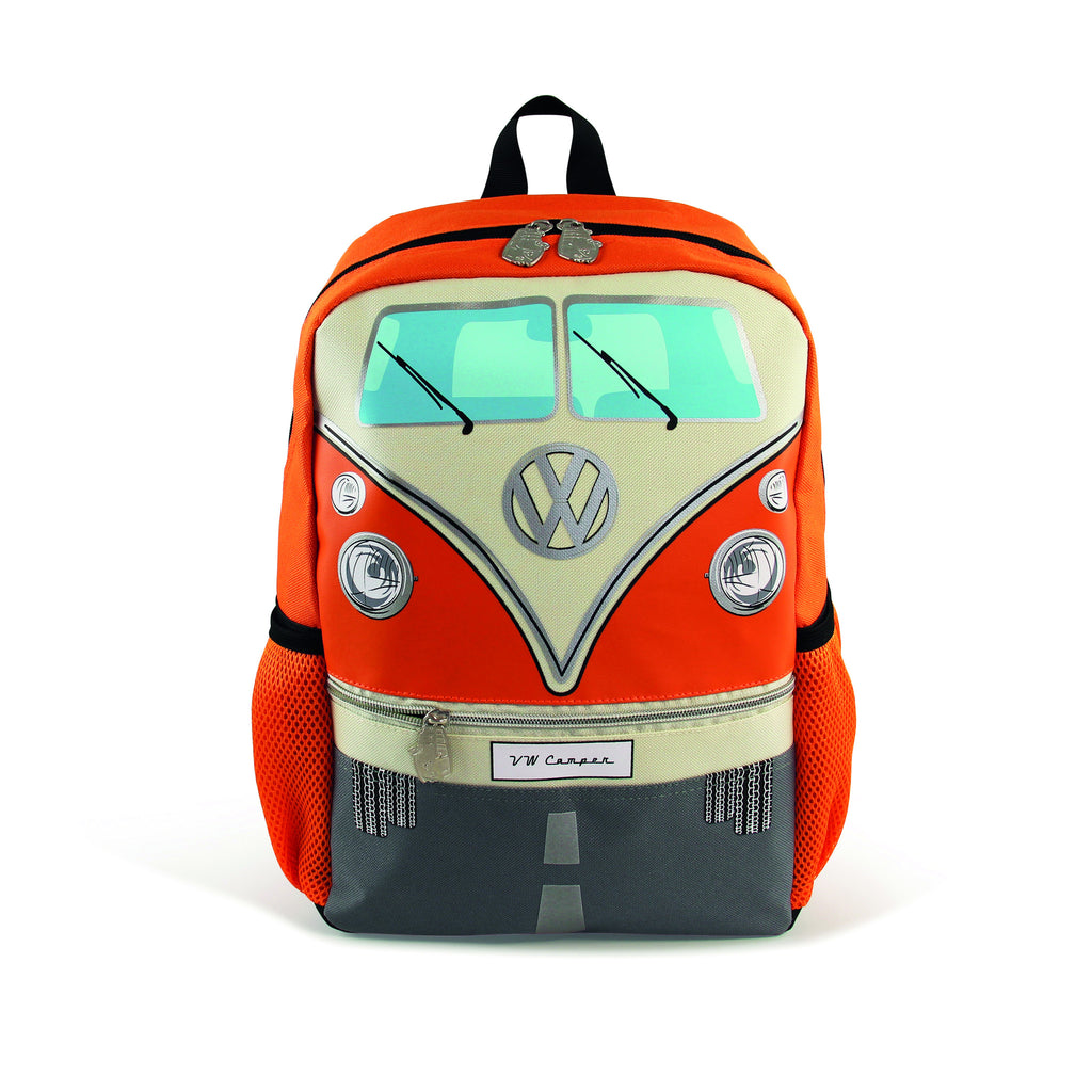 VW T1 Bus Backpack Small - Orange - Cool VW Stuff  - 1