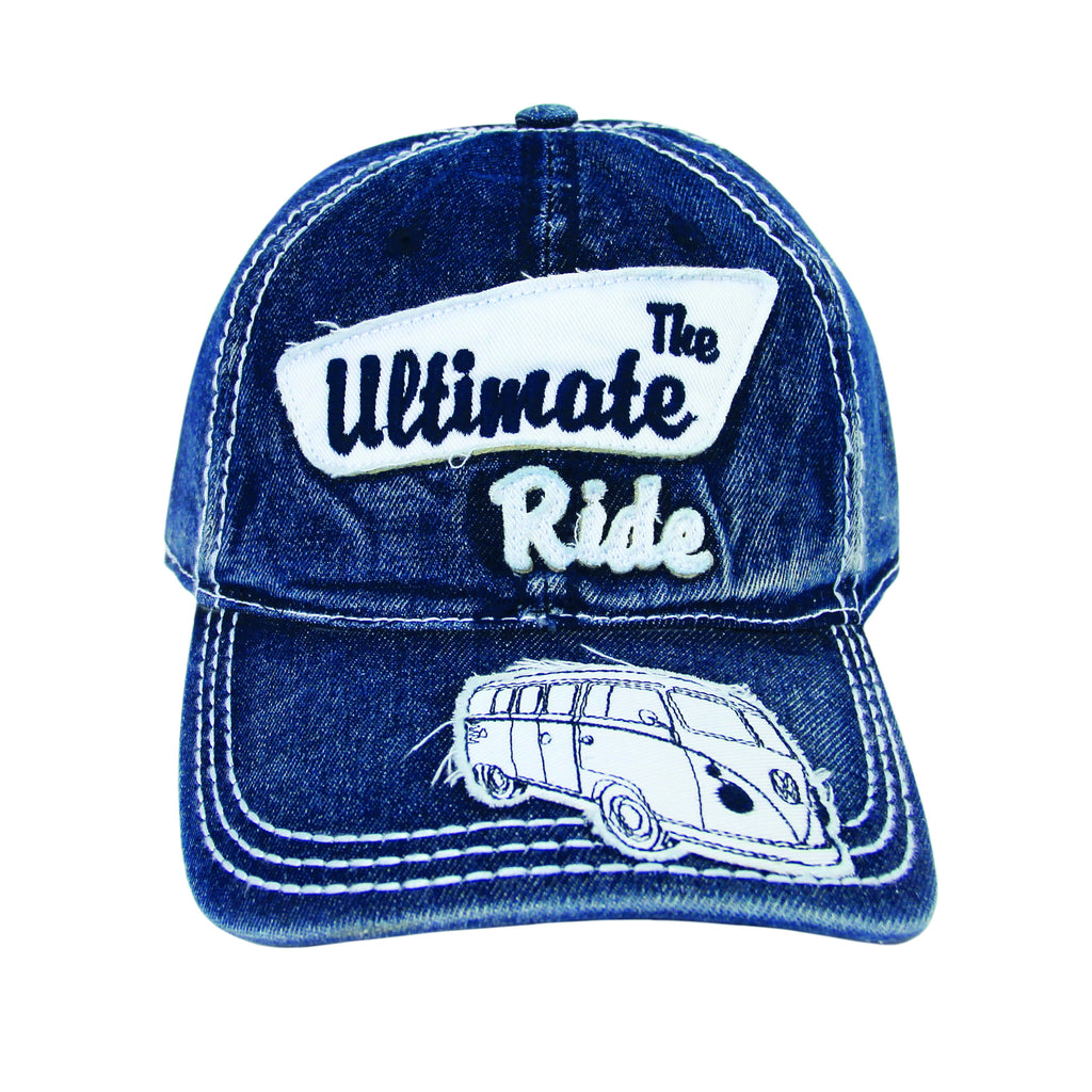 The Ultimate Ride Cap-Blue - Cool VW Stuff  - 1